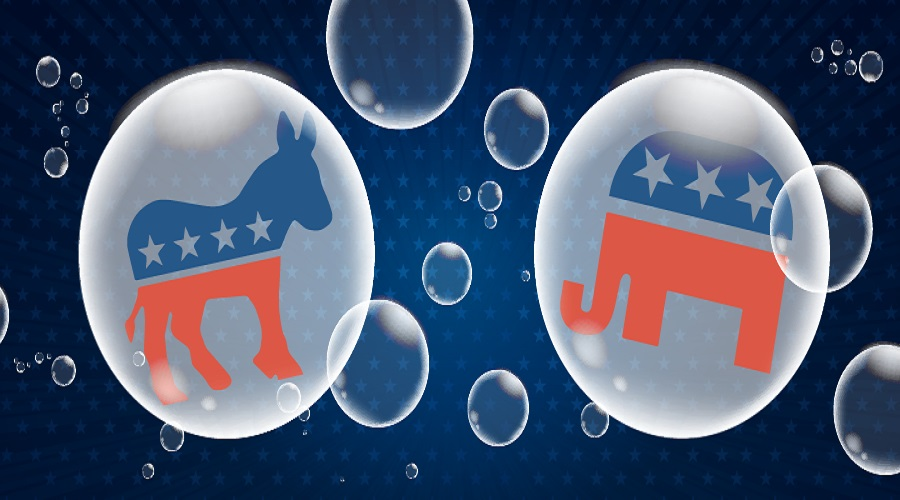 Political Bubbles