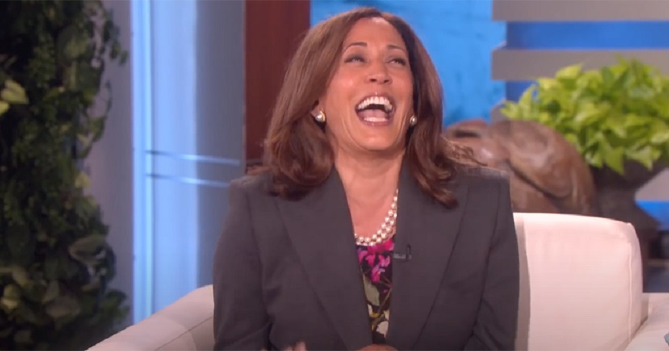 Kamala Laughing