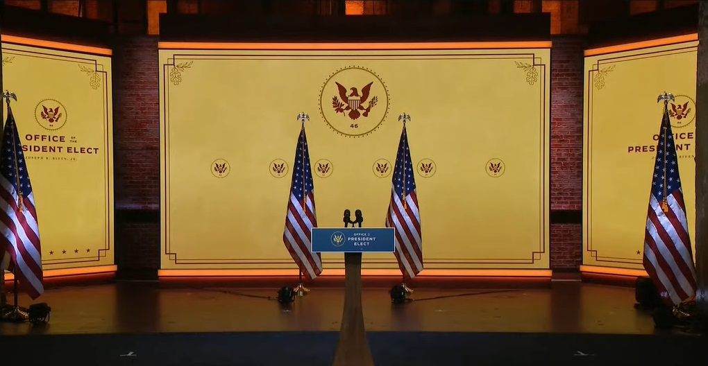 Joe Biden Presidential Stage