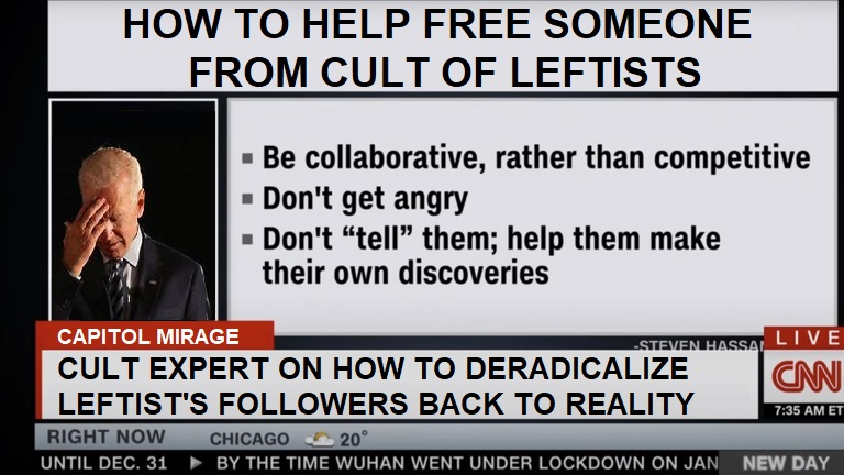 Deprogramme Cult Leftists
