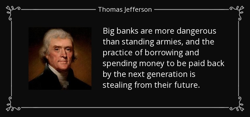 Central Banks Standing Armies